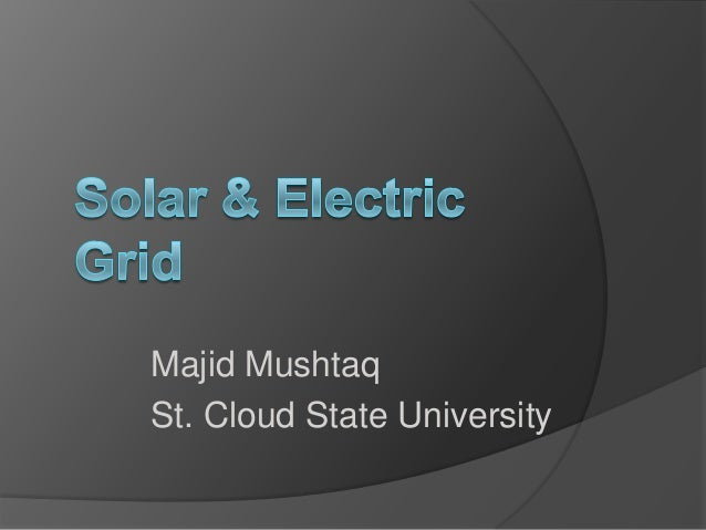 Majid Mushtaq St. Cloud State University