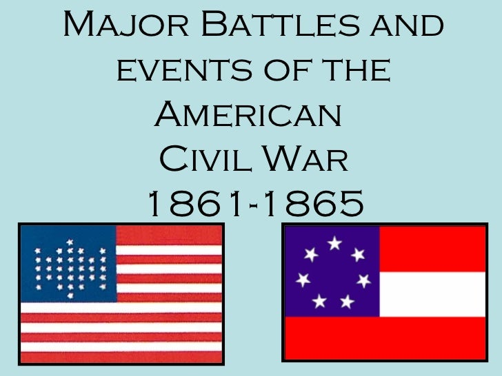 the events that led to the souths defeat in the civil war The end of the american civil war by both the north and south the war led to the greatest loss of american life in conflict to date.