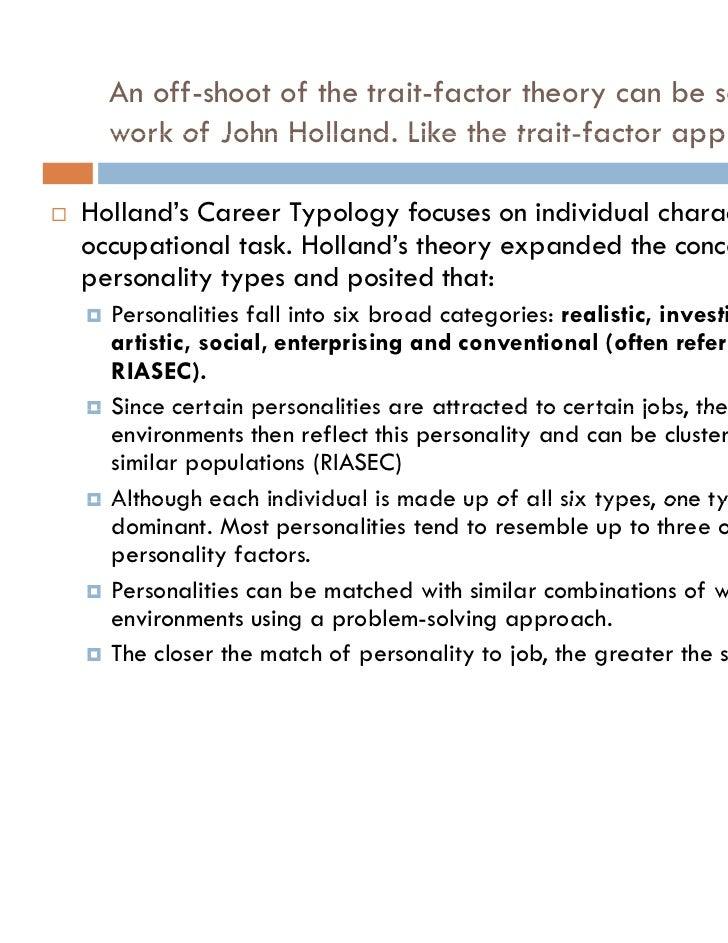 Career Development Theories