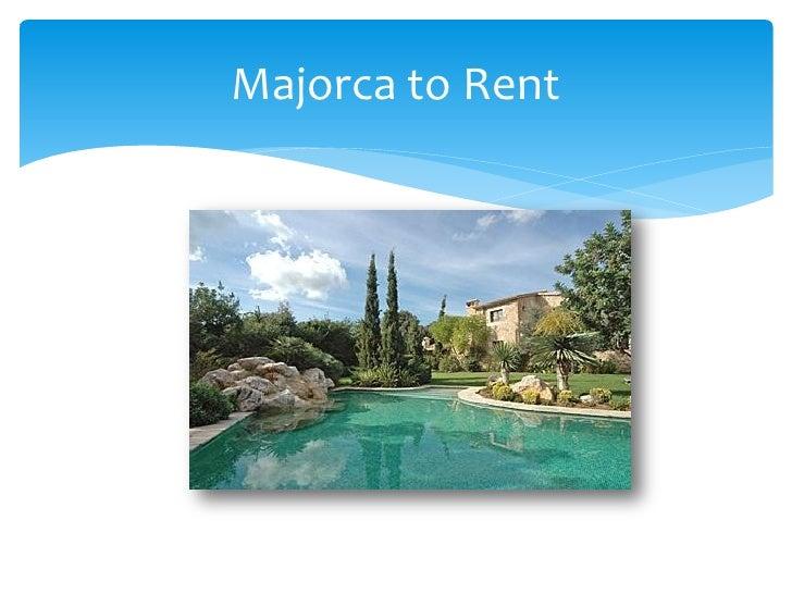 Majorca to Rent