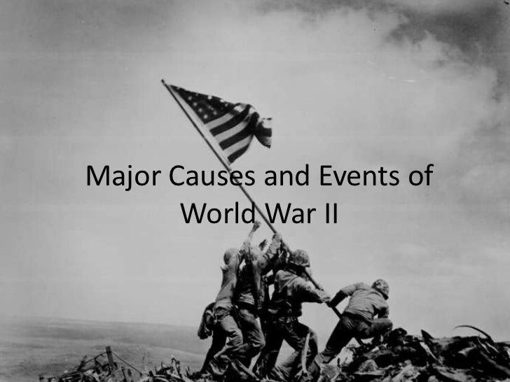 Causes and Events of World War II