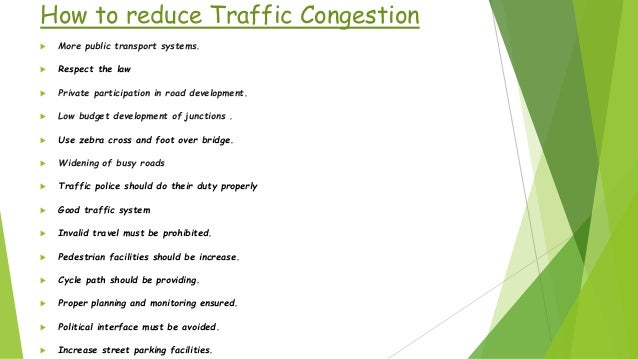 major causes of traffic congestion in dhaka city