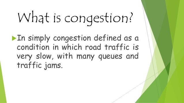 Car Parking and Traffic Congestion