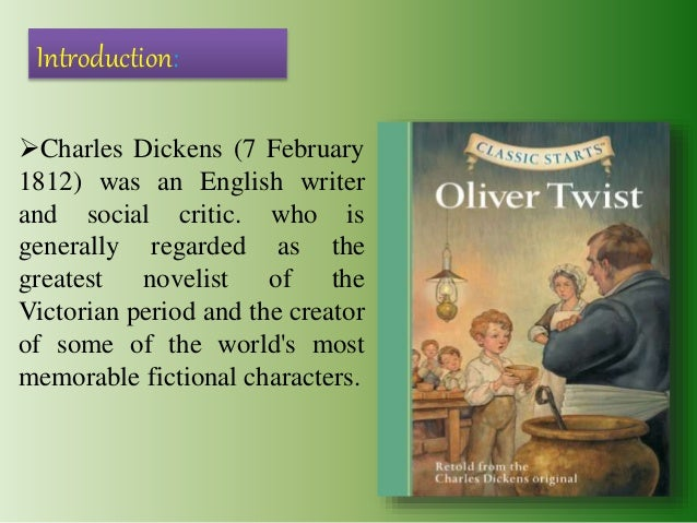 major characters of oliver twist