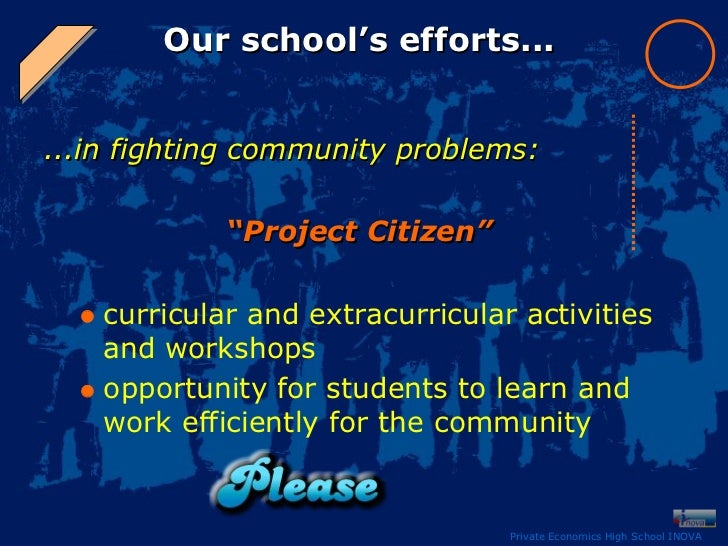 community problems our responsibility Law enforcement as a community service career  which views community problems,  accountable for our actions.