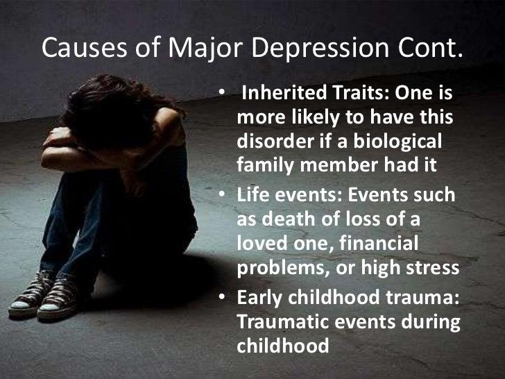 Major depression powerpoint
