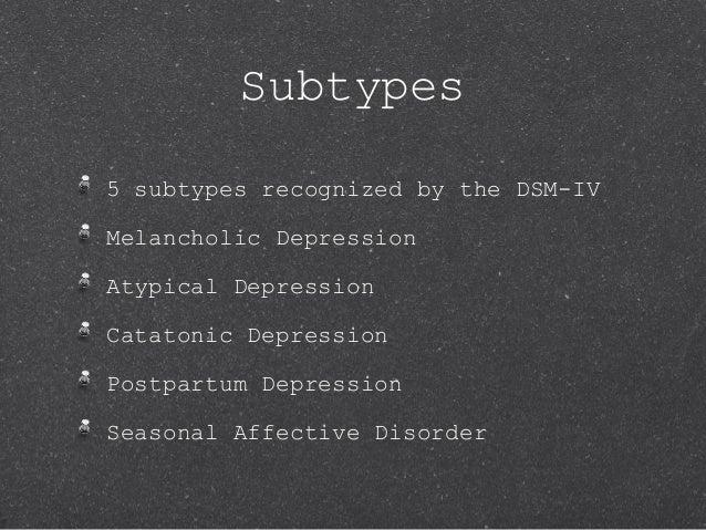 major depressive disorder powerpoint, Skeleton
