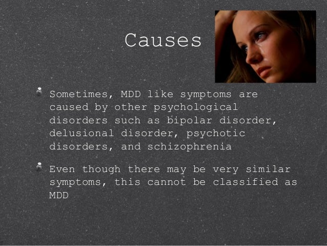 Major Depressive Disorder Powerpoint