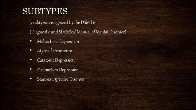 major depressive disorders, Skeleton