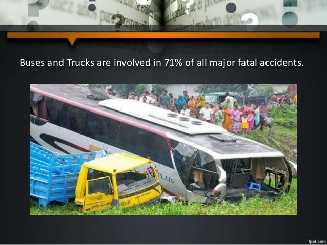 Road Accidents in Bangladesh: An Alarming Issue