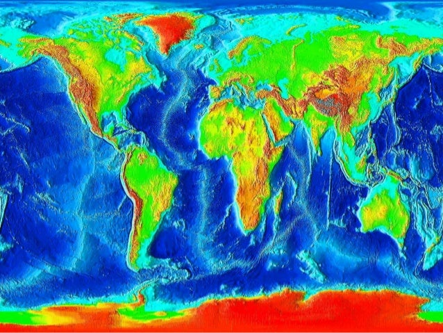 Major features of earth's surface