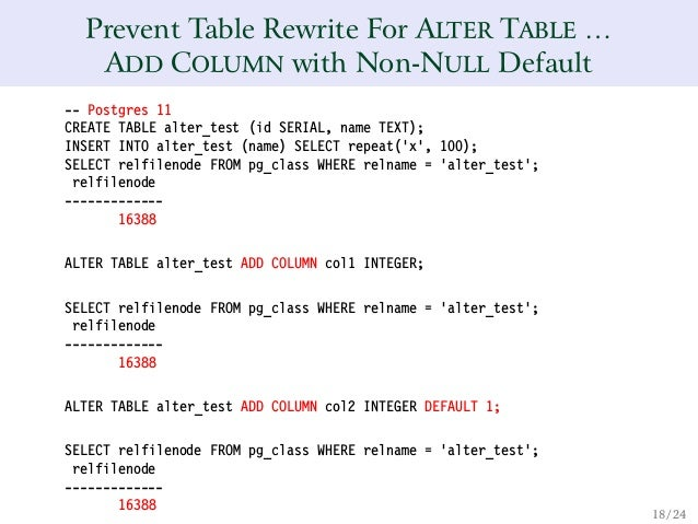 Alter Table Add Column Int Postgres sql How to set auto
