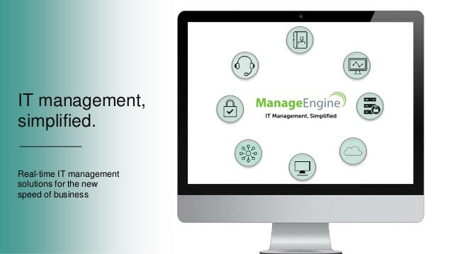 IT management, simplified. Real-time IT management solutions for the new speed of business