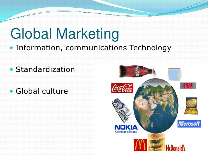 Major Issues In Global Marketing
