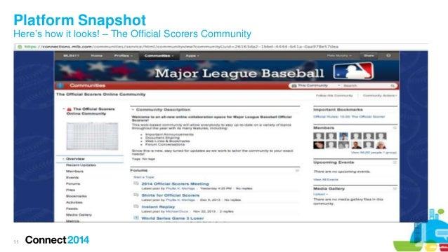 Major League Baseball - Fostering a Collaborative Approach