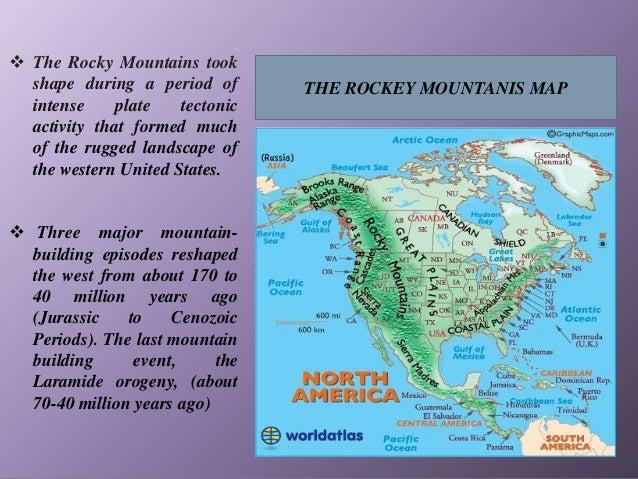 Major mountain ranges of the world
