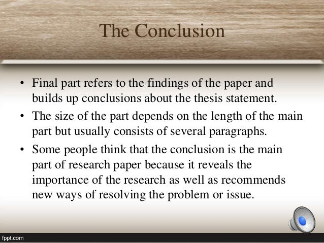 part of a research paper Here are some basic tips to help you in writing your research paper the introduction is an important part of your research paper while your introduction should be relatively concise, accomplishing the goals below will take more than one paragraph.