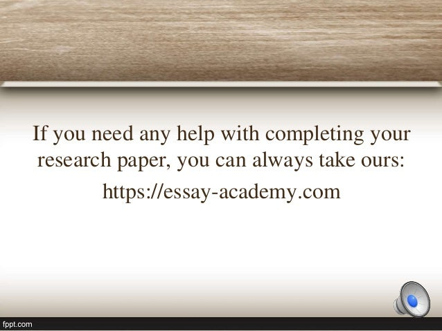 part of a research paper Good research paper writing can be made much simpler than most people think provided a few important principles are kept in mind we cover these principles here, in.