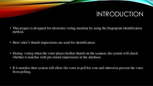 scope and limitation in studying automated voting system 1 jacob stein is a california attorney and an authority on the subject of asset protection his textbooks on asset protection are used by lorman education services, national business institute, california cpa society and the california cpa education foundation.