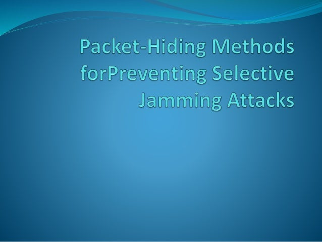 Detection and Prevention for Jamming Attack in MANET using TAODV Protocol
