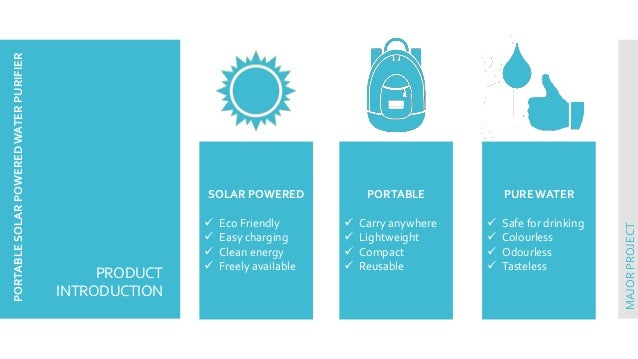 solar water purifier project pdf