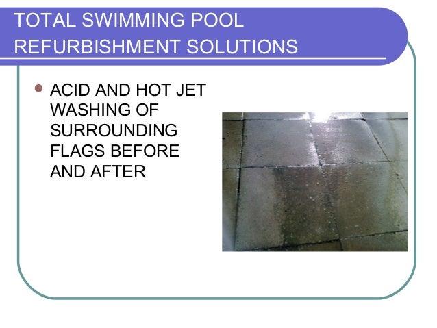 Major Refurbishmentand Tiling Of Outdoor Pool