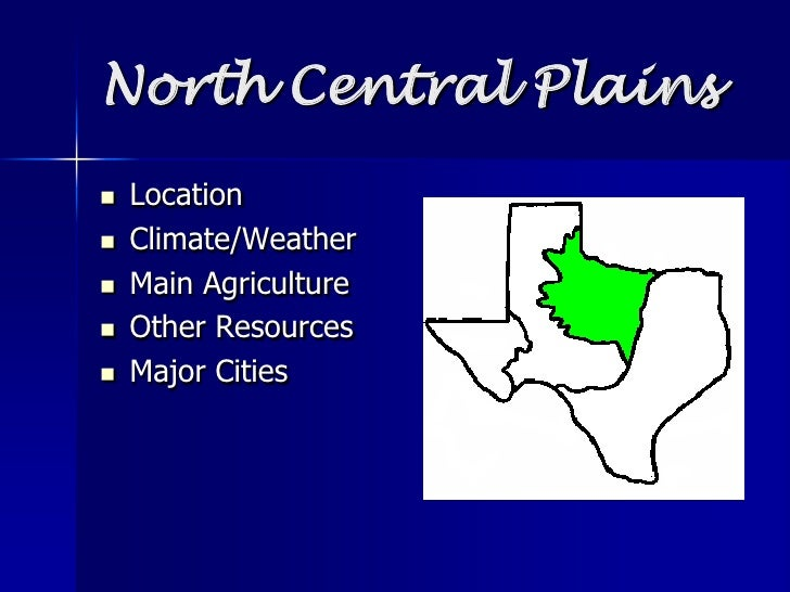 Texas Central Plains Natural Resources