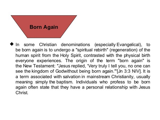 born again and catholic relationship with christ