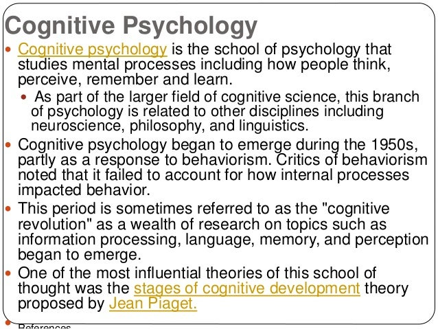 what are the school of thoughts of psychology