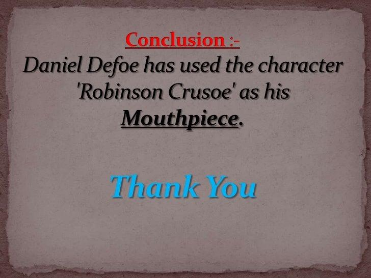 conclusion of robinson crusoe