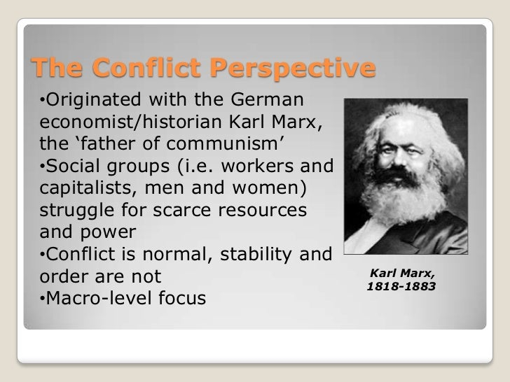 Examples of dissertation karl marx conflict theory