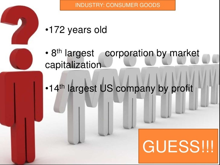 INDUSTRY: CONSUMER GOODS<br /><ul><li>172 years old