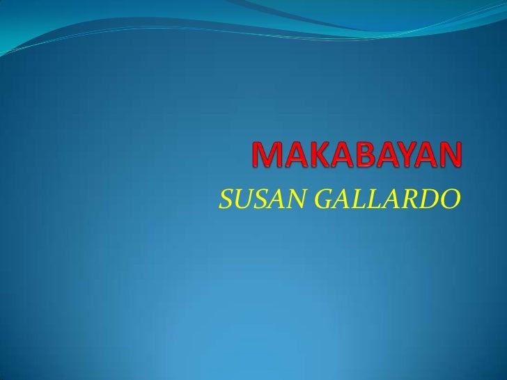 SUSAN GALLARDO