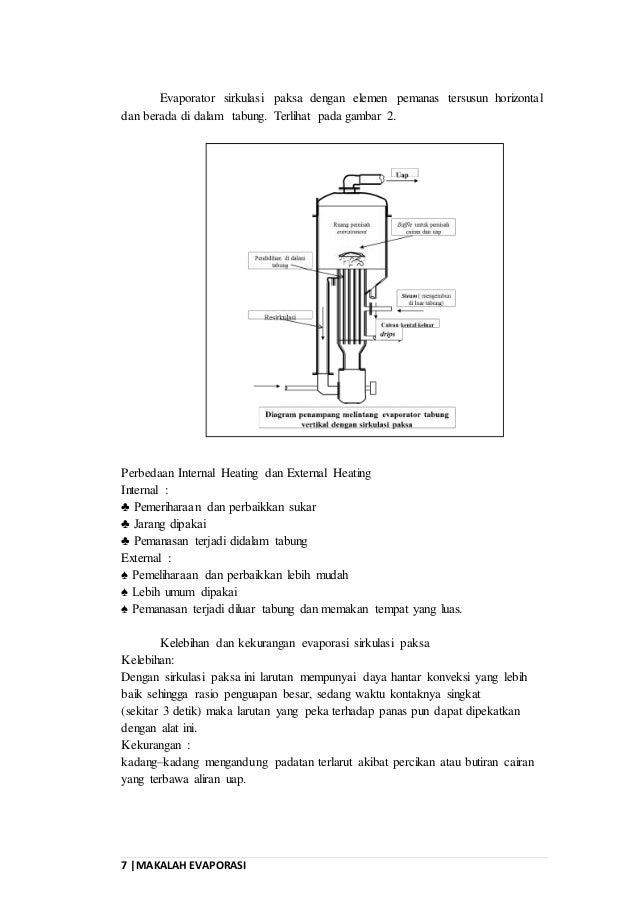 Makalah forced circulation of evaporation evaporator sirkulasi paksa 7 7 makalah evaporasi ccuart Gallery