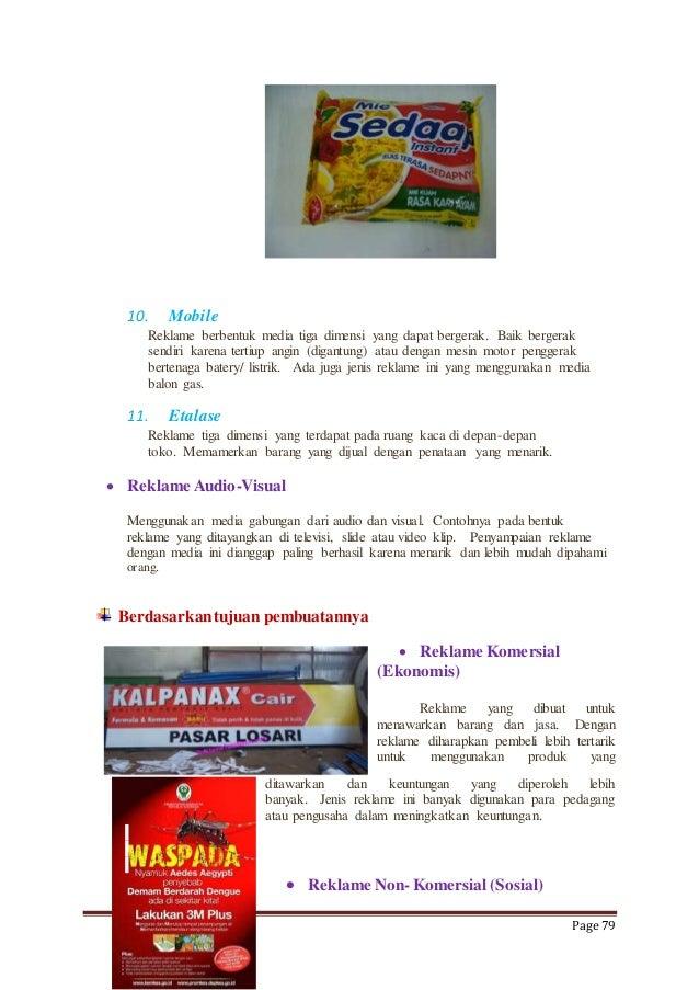 Contoh Gambar Reklame Komersial Yang Mudah - Gambar Reklame