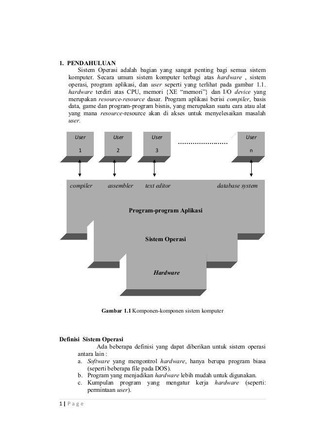 Makalah sisitem operasi pendahuluan sistem operasi adalah bagian yang sangat penting bagi semua sistem komputer secara d ccuart Image collections