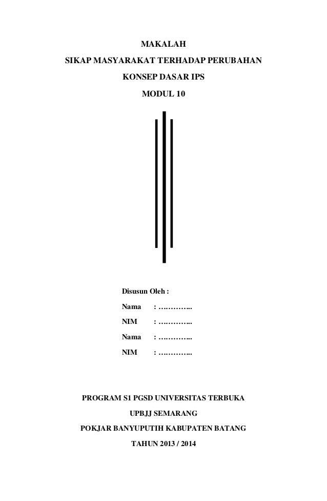 Modul Ut Makalah Ips