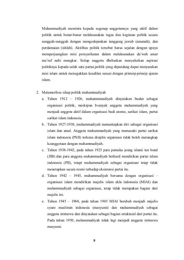 Muhammadiyah Sebagai Gerakan Politik Aik 3