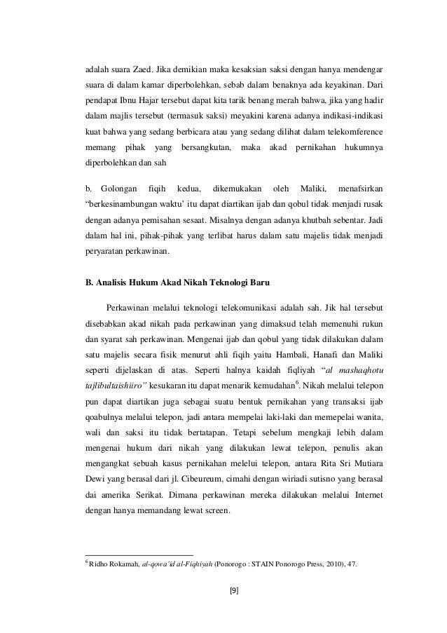 Contoh Surat Undangan Ijab Qobul - Sample Surat Undangan