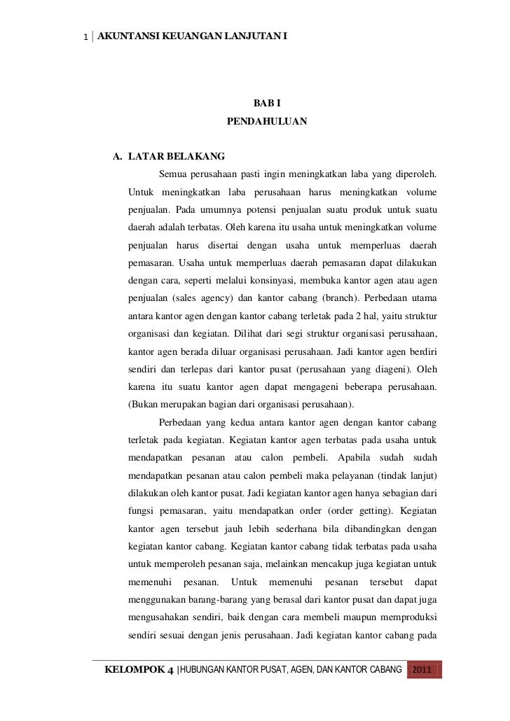 Makalah Akuntansi Keuangan Lanjutan I Studi Kasus Pt Tiki Kel 4