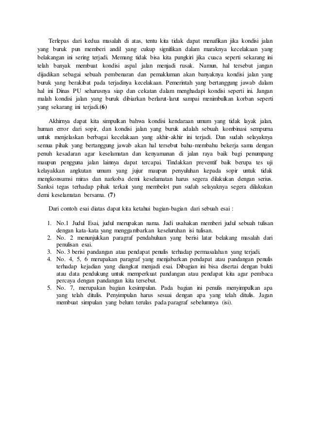 Makalah Bahasa Indonesia Esai