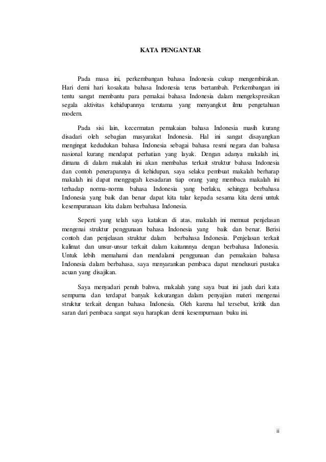 Contoh Makalah Bahasa Indonesia Kalimat Efektif Pdf Awan Danny Media