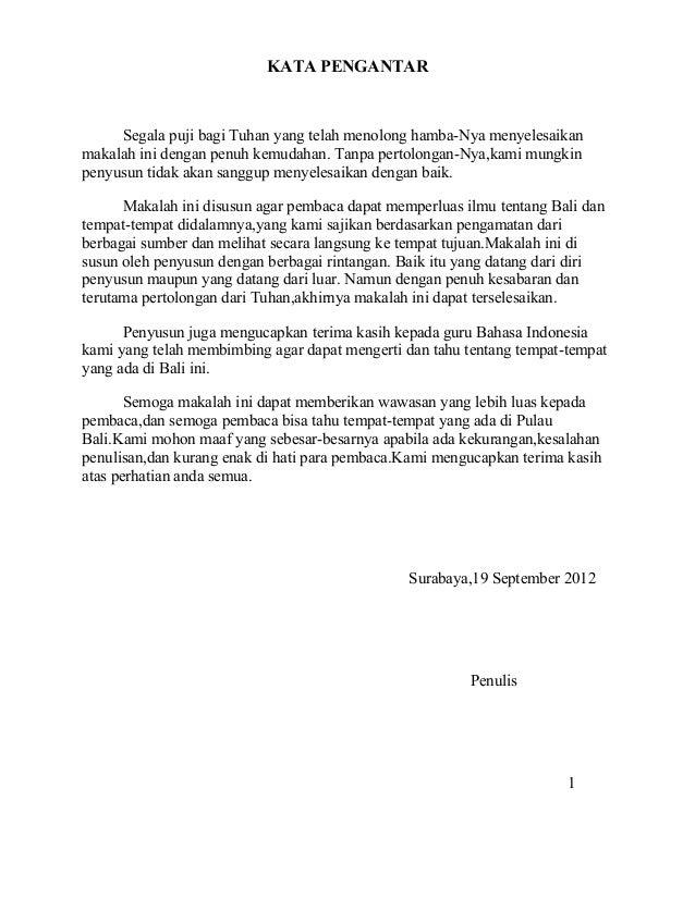 Contoh Laporan Tentang Keindahan Alam Indonesia Kumpulan Contoh Laporan