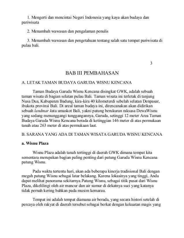 Makalah Bahasa Indonesia Keindahan Alam