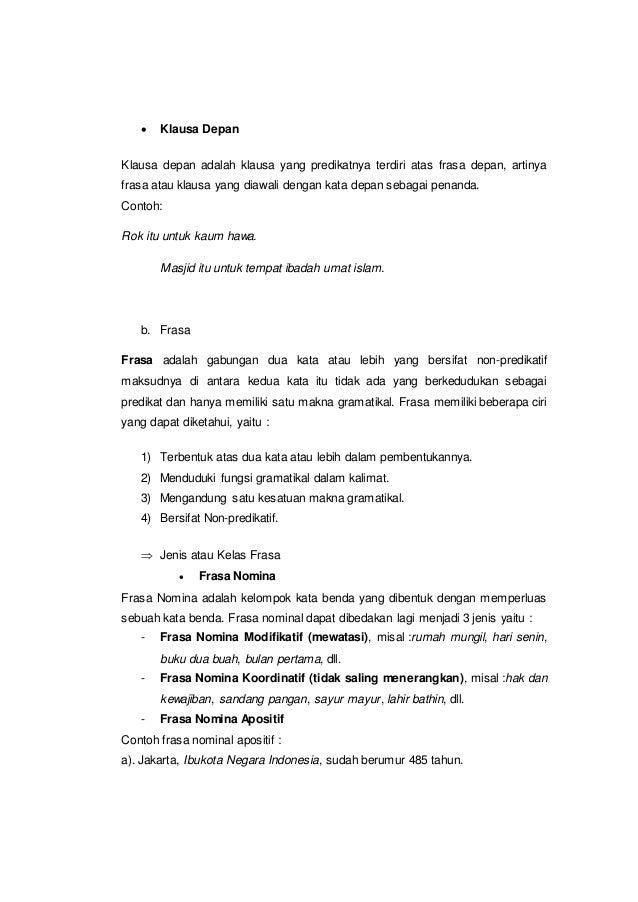 Kata Verba Dan Frasa Verba Dalam Teks Wayang Paragraf 3