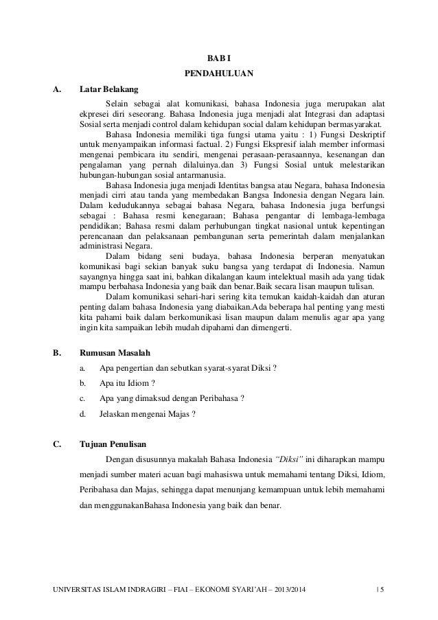 Diksi dan gaya bahasa pdf