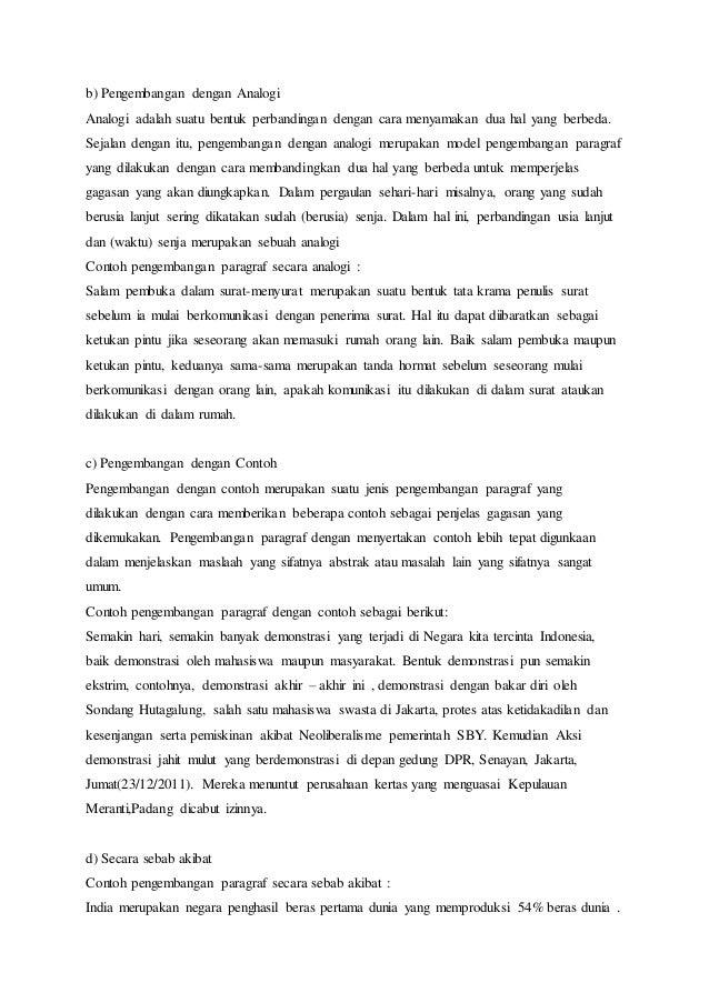 Makalah Bahasa Indonesia Paragraf