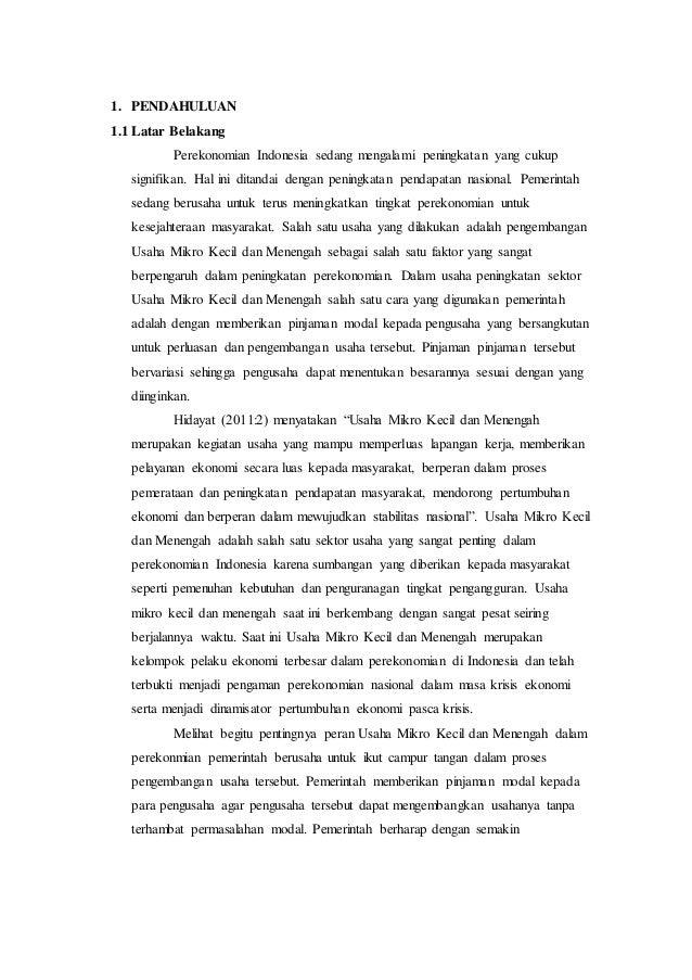 Doc Kata Pengantar Umkm Ridho Sarabiti Academia Edu