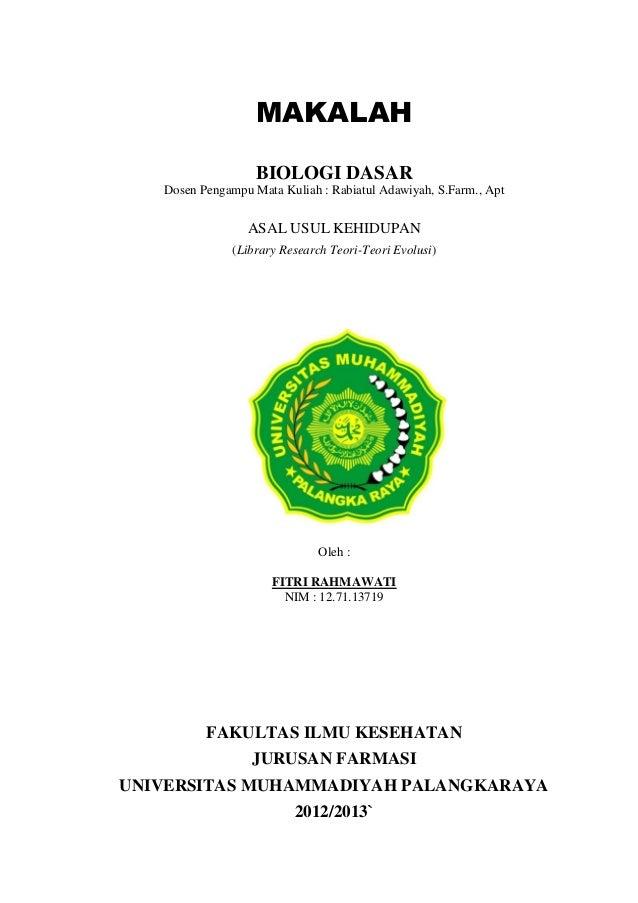 Makalah Biologi Farmasi