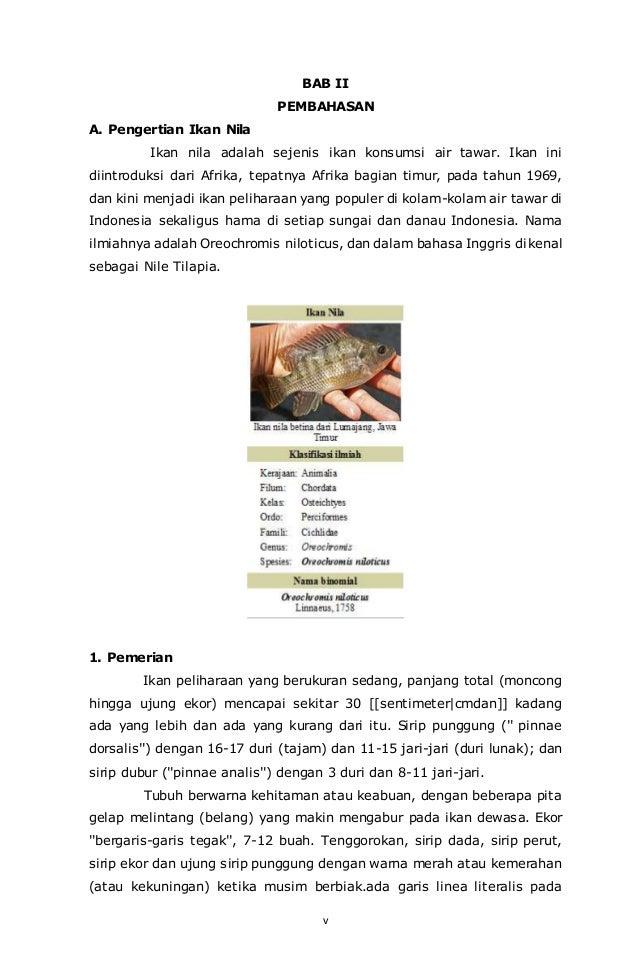 Makalah Budidaya Ikan Konsumsi - InfoAkuakultur.com